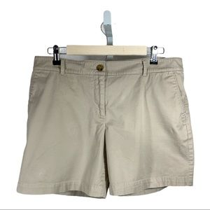 TALBOTS The Weekend Short Twill Tan Size 12P
